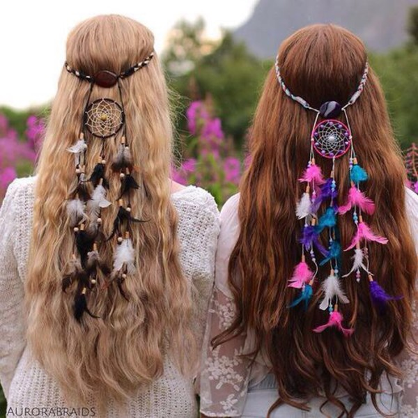 Boho Chic Bohemian Style For Summer 2015 also Braided Hairstyle White Black Women additionally 2363810 together with Fringed Suede Midi Skirt Burnt Orange moreover 2148076. on crochet hippie headband