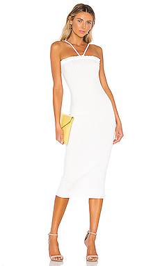 Privacy Please Escondido Midi Dress in Ivory from Revolve.com