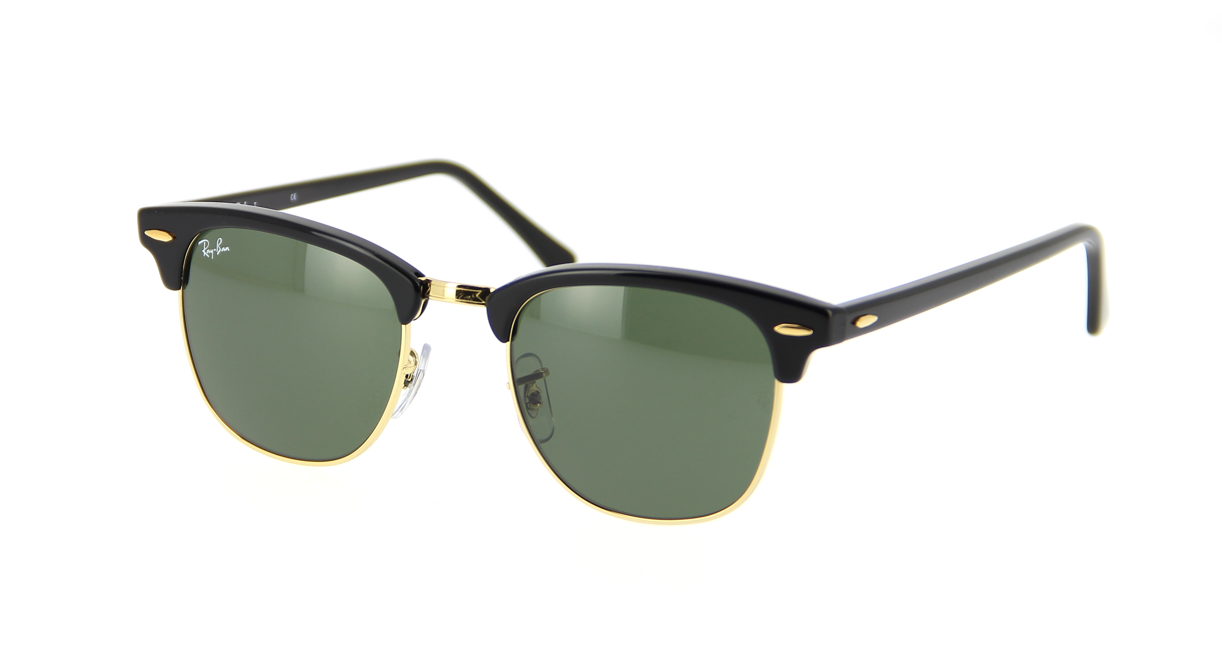 55aae39644 Lunettes de soleil RAY BAN Clubmaster RB 3016 W0365 51 21 Mixte ...