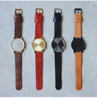 home accessory watch leather