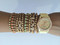 Golden gypsy watch set
