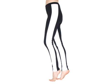 Leggings Black White - Style by Stories