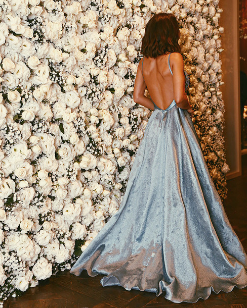 Backless Long Dress Tumblr