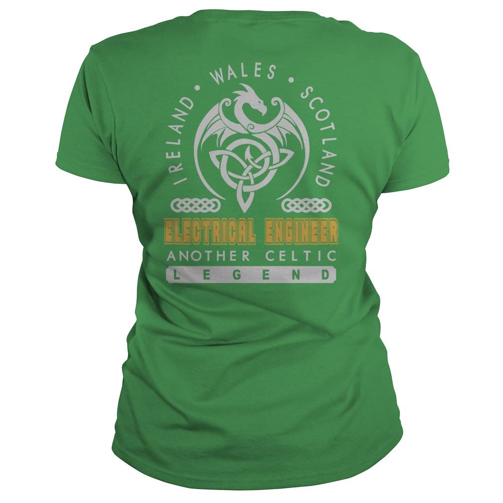 Electrical Engineer Job Legend Patrick's Day T-Shirt, Hoodie
