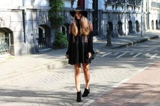 satisfashion blogger fall dress