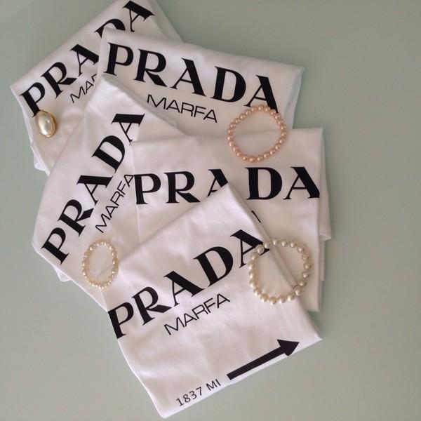 t-shirt white t-shirt black the fashion addicted prada like brand