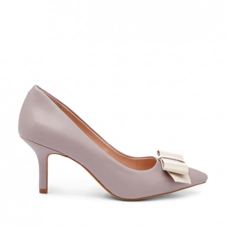 Sole Society - Pointed toe pumps - Meryl - Bark Ecru