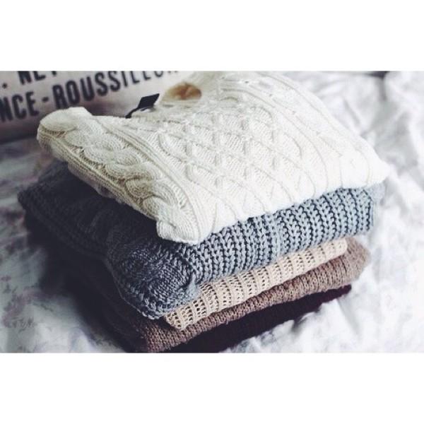 white dress black winter sweater white brown gloves