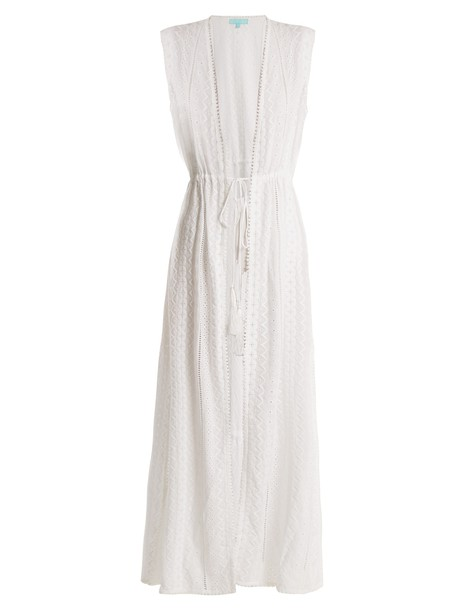 Melissa Odabash dress lace dress lace white