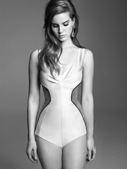 lana del rey swimwear bodysuit perfection