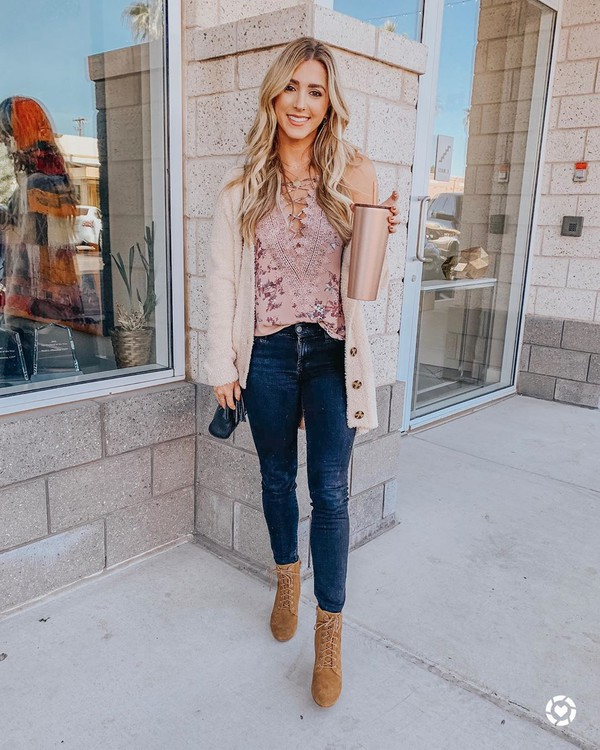 underwear camisole skinny jeans tan lace up booties rosy style strappy camisole rose strappy