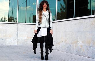 madame rosa blogger jacket cardigan t-shirt bag oysho