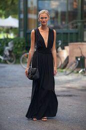 dress,model off-duty,streetstyle,grecian maxi dress