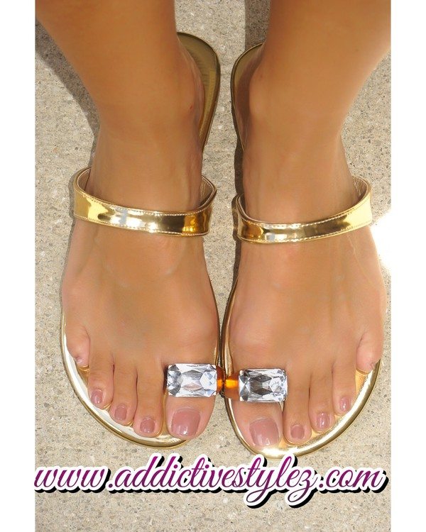 shoes sandals jewel sandals gold metallic flat sandals gold sandals