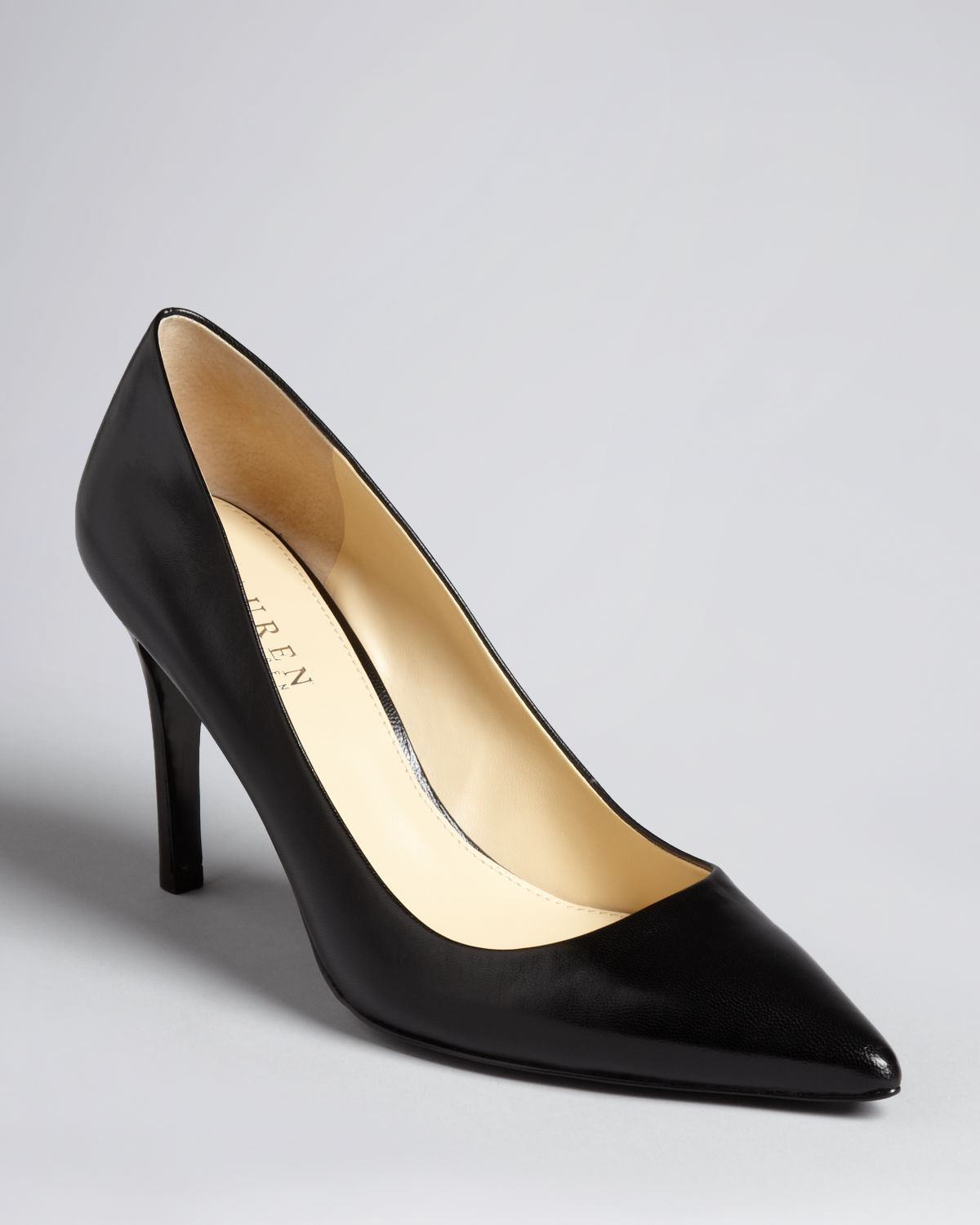 Lauren Ralph Lauren Pointed Toe Pumps - Adena High Heel | Bloomingdale's