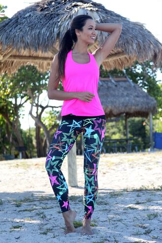 leggings bottoms print bikiniluxe equilibrium activewear