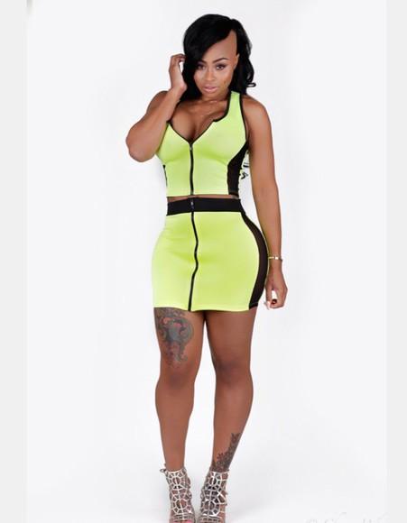bodysuit top bodycon dress