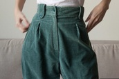 pants,corduroy pants,jeans,green,high waisted jeans,turquoise,corduroy,aesthetic,high waisted,natural green,indie,vintage,90s style,green corduroy,corduroy high waisted