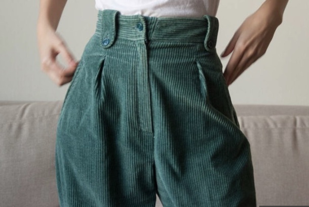 pants corduroy pants