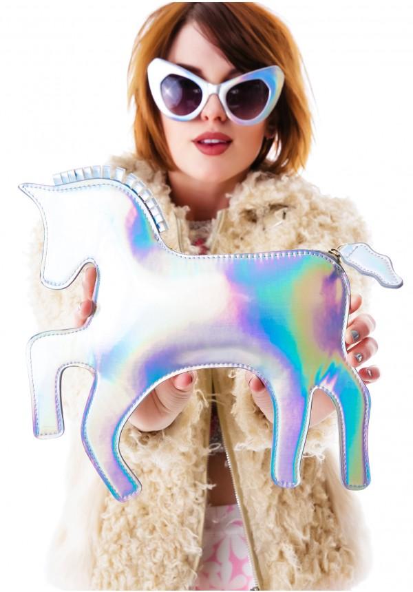 Dolls kill the last unicorn hologram clutch