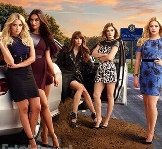 dress romper shay mitchell pretty little liars pumps skirt lucy hale aria montgomery ashley benson troian bellisario alison dilaurentis hanna marin spencer hastings emily fields sasha pieterse