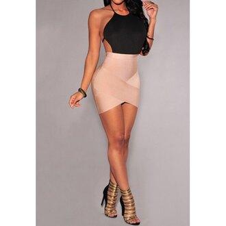 dress black dress sexy clubwear rose wholesale
