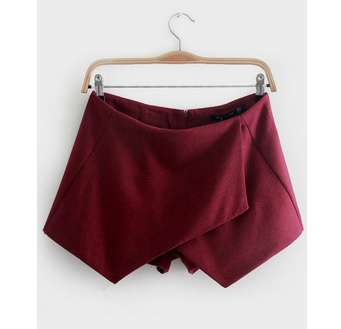 Wine origami skort · luxe muse · online store powered by storenvy