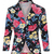 Samantha | Black Rose Floral Jacket