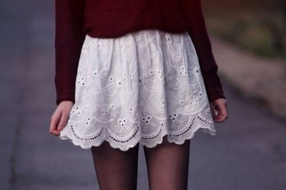 skirt white casual cute shirt beautiful skirt white skirt