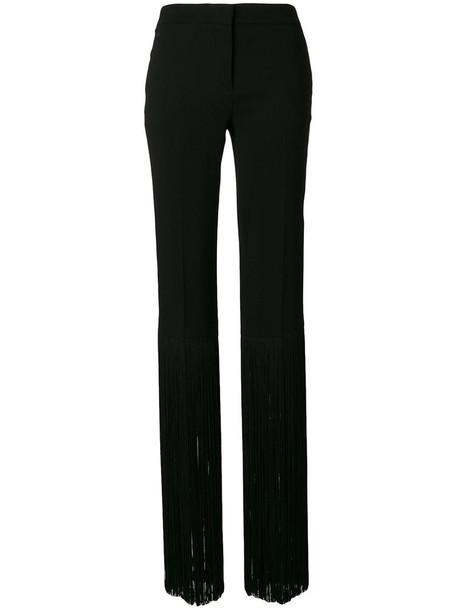 Emilio Pucci women spandex black pants