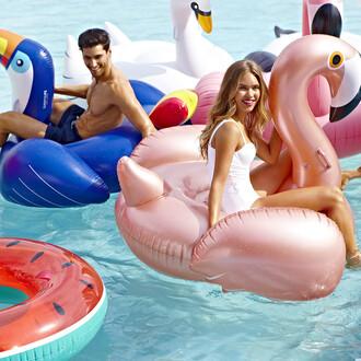 home accessory pool accessory pool pool float inflatabe flamingo beach summer 2017 summer amara