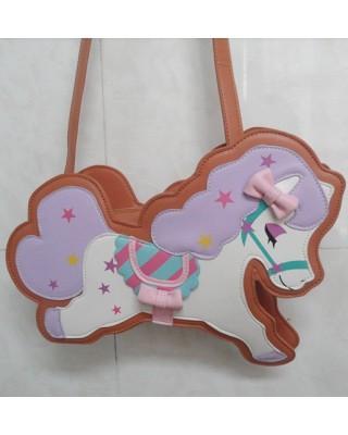 Sweet Flying Horse Lolita Shoulder Bag 3 Colors $39.99-Girls Sweet Bags - My Lolita Dress