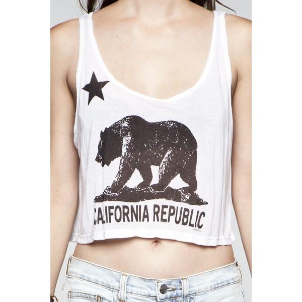 Mirella california republic tank - Polyvore