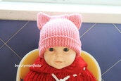 crochet,baby,children crochet hat,crochet baby hat,newborn boy hat,knit newborn hat,crochet newborn hat,baby hat,crochet hat,baby earmuff,baby beanie,beanie,cat girl,ear flap knit cat