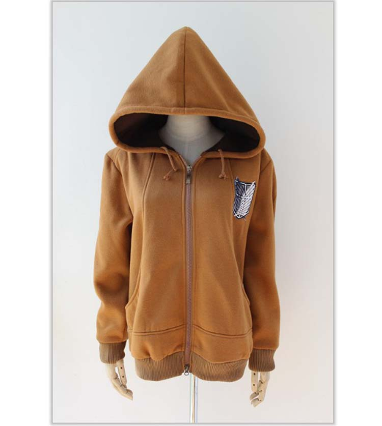 Shingeki No Kyojin Attack on Titan Badge Jacket Wings of Liberty Hoodies WF 5108 | eBay
