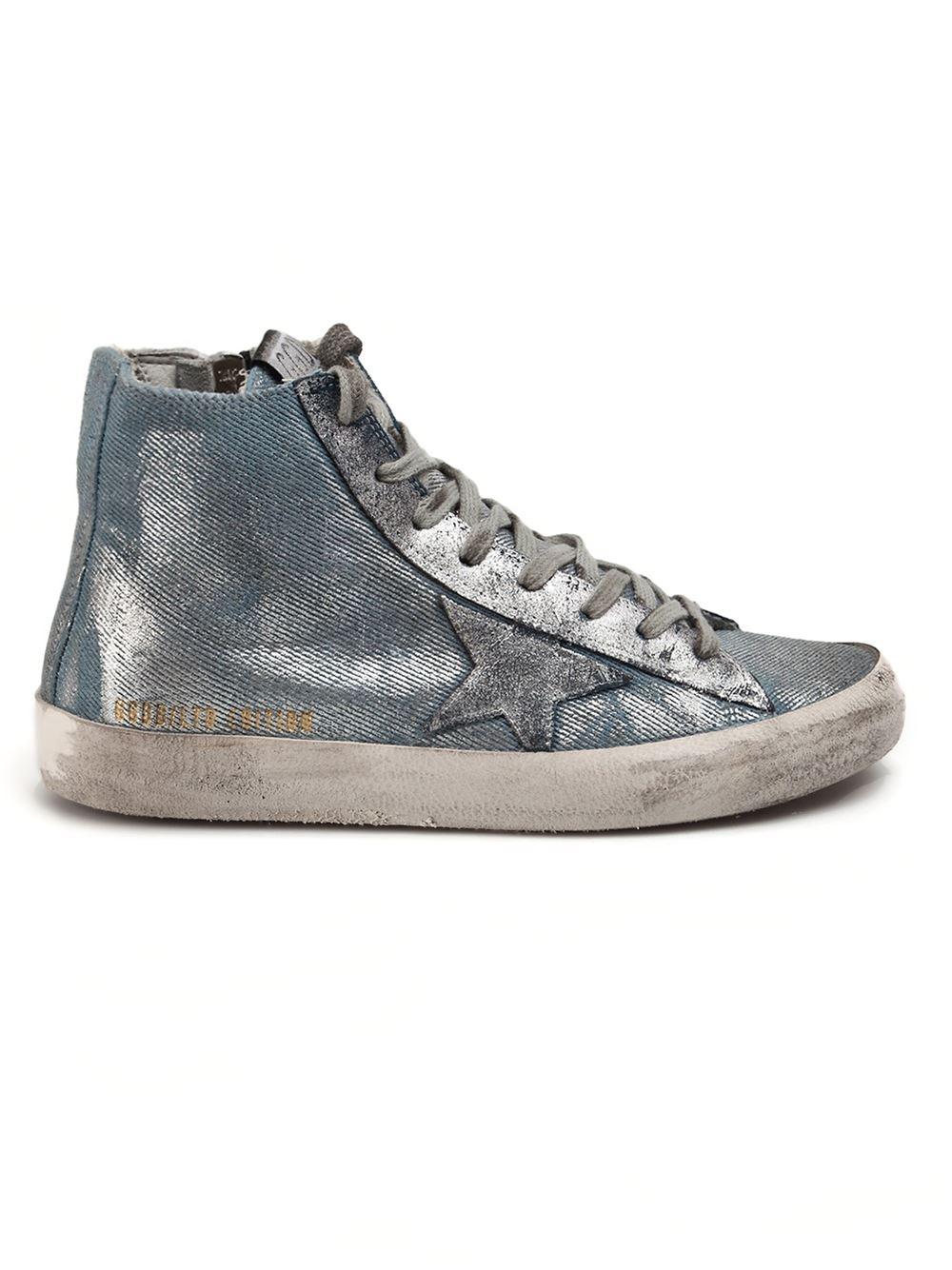 7c693cfb5466a Golden Goose Deluxe Brand  francy  Hi-top Sneakers - L eclaireur ...