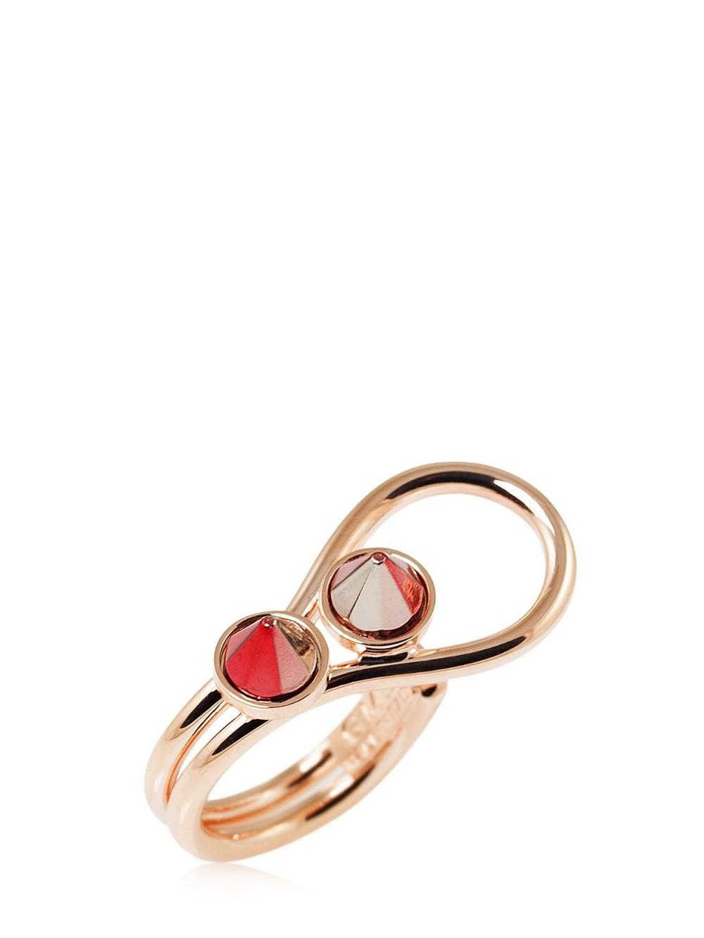GIULIANA MANCINELLI Mocker Ring in gold / rose