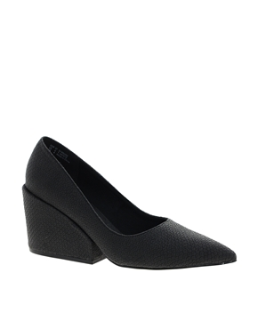 Cheap Monday | Cheap Monday Cube Heeled Shoes at ASOS