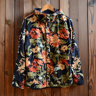 jacket shopwithhearts 36683 roses floral windbreaker