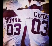 jersey,shirt,bonnie and clyde,t-shirt