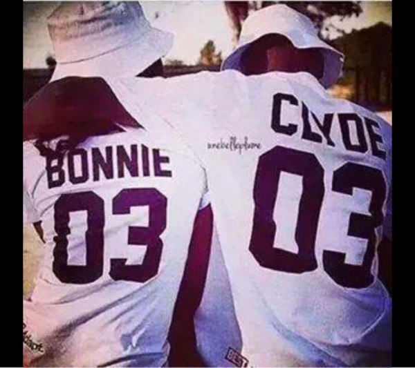 jersey shirt bonnie and clyde t-shirt