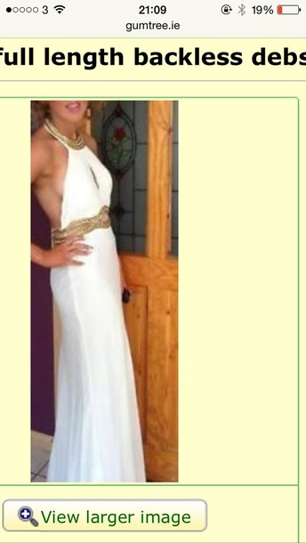 dress backless white dress backless prom dress white prom dress backless