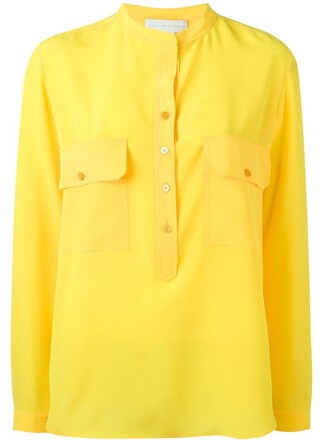 shirt yellow orange top