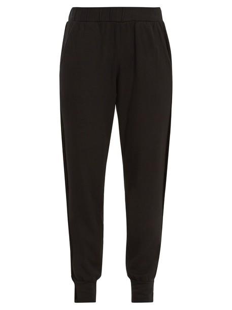 VELVET BY GRAHAM & SPENCER velvet black pants