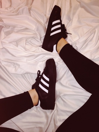 shoes adidas superstars black shoes adidas adidas shoes black and white