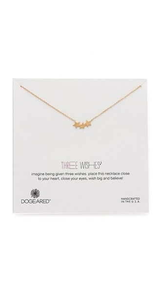 triple necklace gold jewels
