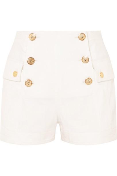 shorts denim shorts denim white