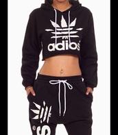 top,adidas crop tp