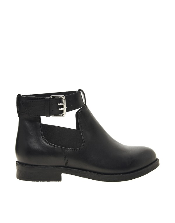 shoes asos boots leather