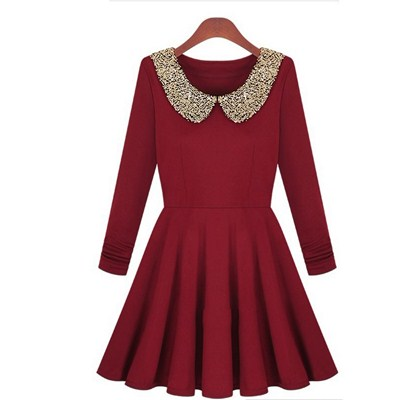 FDT 4562 RED DRESS